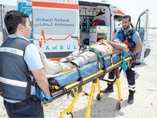 ربط مستشفيات الإمارات الشمالية بالإسعاف الوطني إلكترونيا
