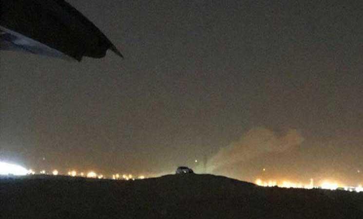 5 صواريخ باتريوت تفشل في اعتراض صاروخ الحوثيين على الرياض