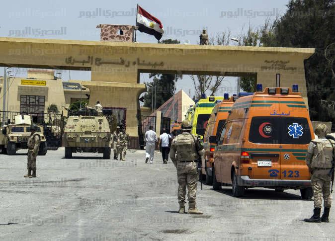 وفد طبي إماراتي يعبر ميناء رفح في طريقه إلى غزة