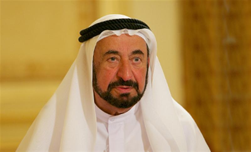 حاكم الشارقة يستقبل أحمد أبو الغيط