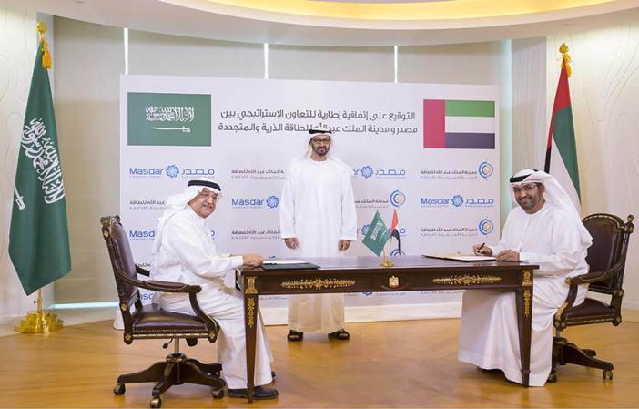 الإمارات والسعودية توقعان اتفاقية للتعاون في مجال الطاقة