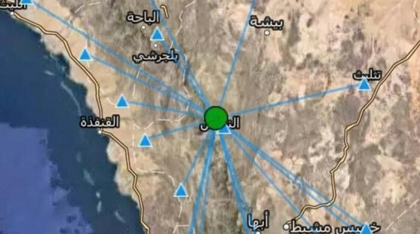 خامس هزة أرضية تضرب السعودية في أسبوع