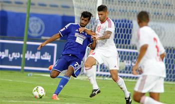نتائج مباريات الأحد لدوري الخليج العربي