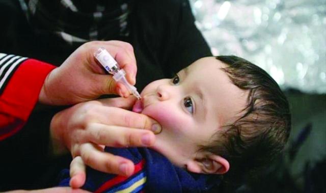 الصحة تدعو المواطنين لتطعيم أطفالهم ضدشلل الأطفال في اليوم الأخير