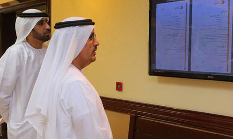 محاكم دبي تبدأ بنشر الإعلانات القضائية على شاشات إلكترونية