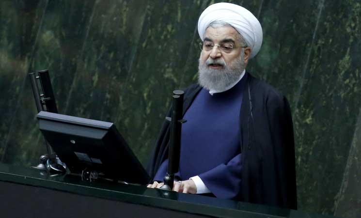 روحاني: إيران لن تسمح لترامب بإلغاء الاتفاق النووي