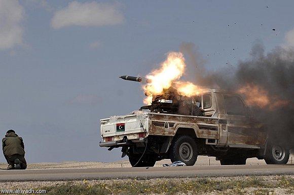 بريطانيا: لا وجود لأي نوايا لتدخل عسكري في ليبيا