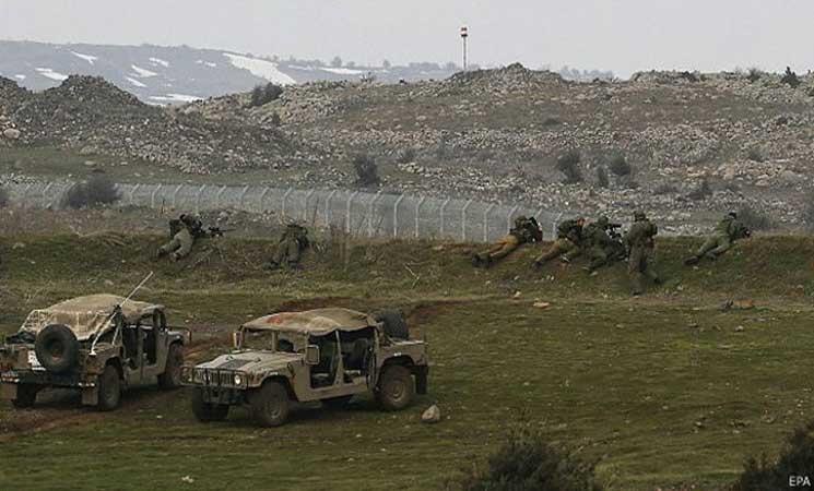 جيش الاحتلال الإسرائيلي يقول إنه هاجم هدفين لجيش نظام الأسد