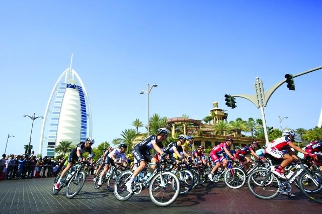 اعتماد المسار النهائي لمراحل طواف دبي الدولي