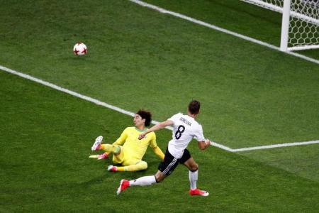 ثنائية سريعة من جوريتسكا تقود ألمانيا لنهائي كأس القارات