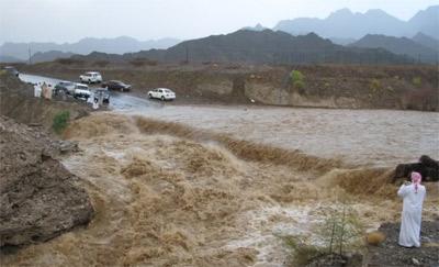 3.2 ملايين متر حجم المياه في السدود بعد تساقط الأمطار