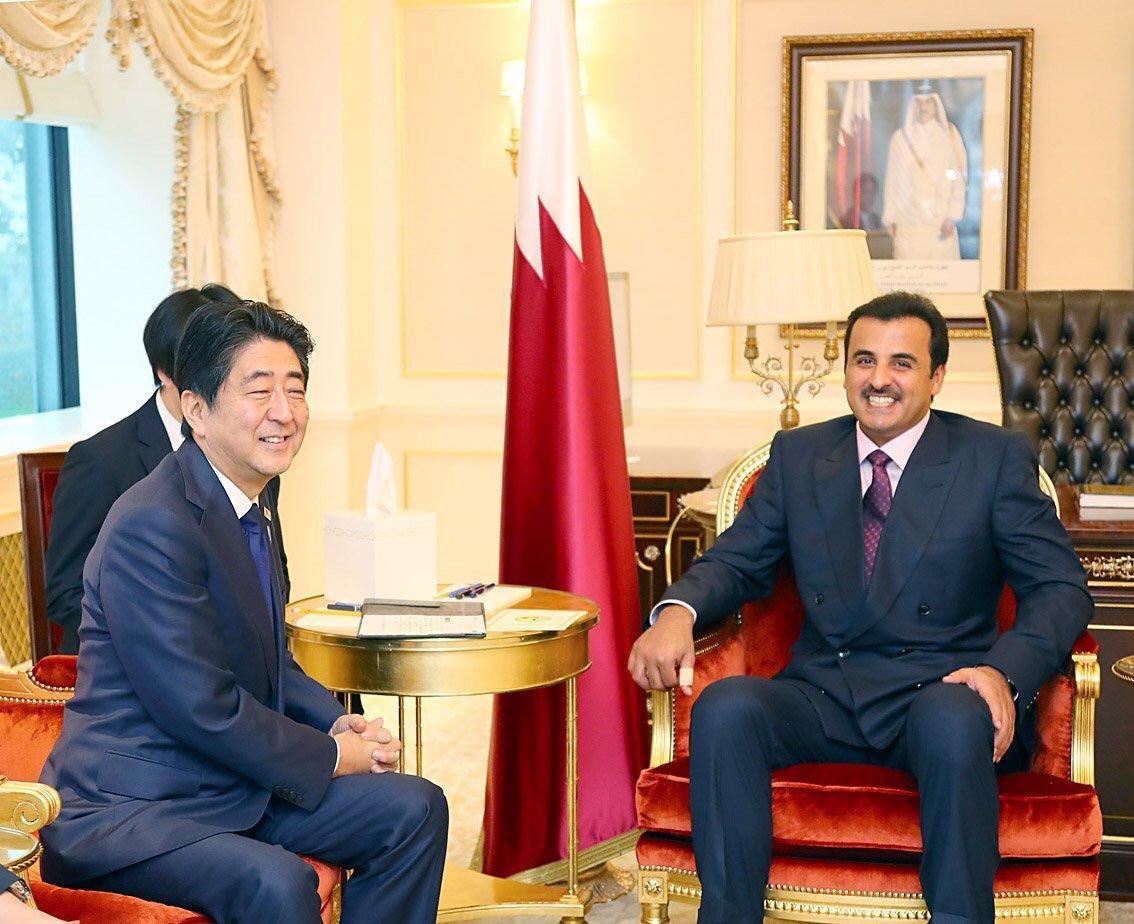 رئيس وزراء اليابان: مطالب الدول التي تقاطع قطر