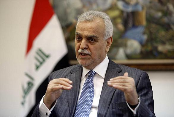 طارق الهاشمي يتهم العبادي بإبادة الموصل ويطالب بفتح تحقيق دولي