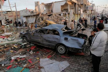 مصرع 22 شخصا على الأقل في انفجارين ببغداد