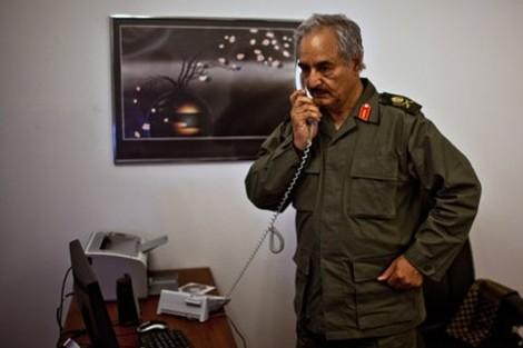 يشكل خرقا أمميا.. حفتر يبحث مع مسؤولين روس توريد السلاح