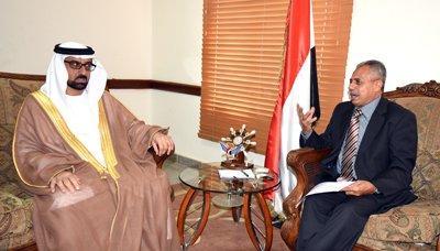 الإمارات تؤكد دعمها للحكومة اليمنية