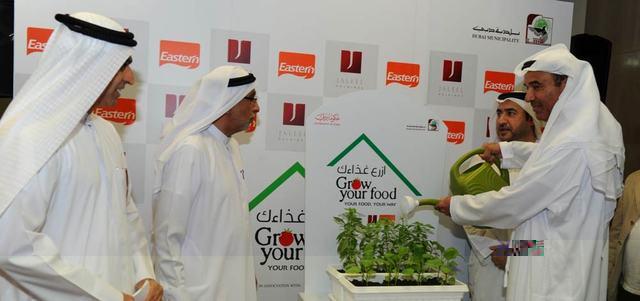 اطلاق مسابقة ازرع غذاءك في دبي