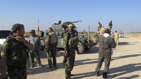 مقتل  27 مسلحا شيعيا في هجوم انتحاري بالعراق