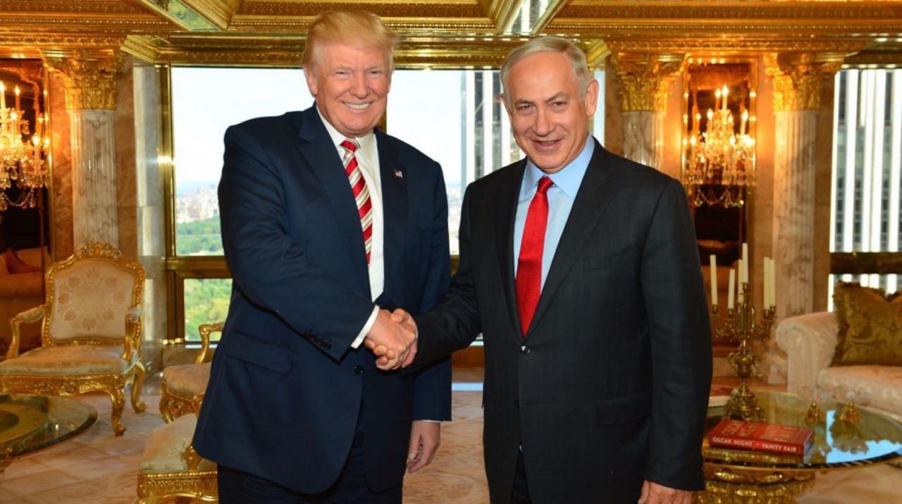ترامب ونتنياهو يبحثان التعامل مع تهديدات إيران وداعش