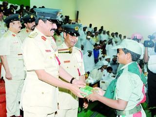 تخريج 289 طالباً في الدورة العسكرية للطلبة