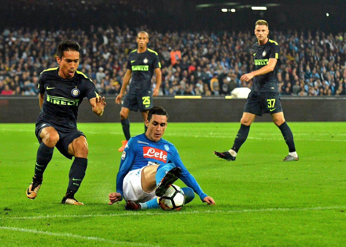 إنتر ميلان يوقف قطار انتصارات نابولي بالدوري الإيطالي