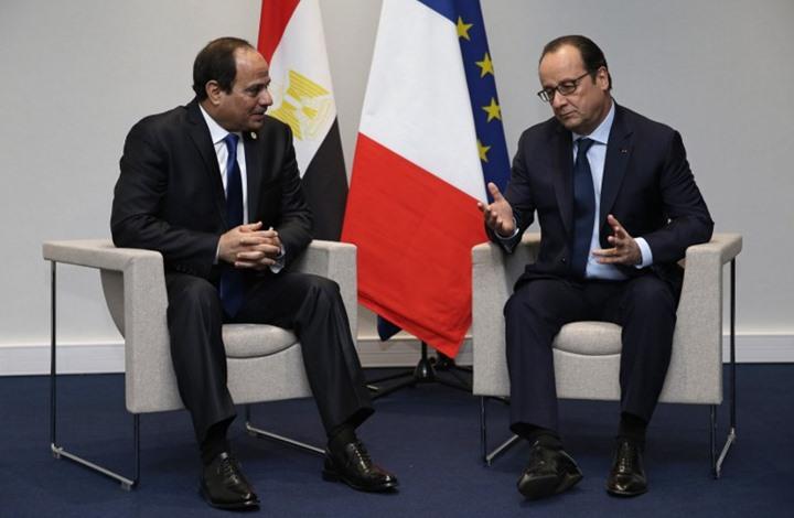 هولاند يدعو لاحترام حقوق الإنسان.. والسيسي: مصر ليست كأوروبا
