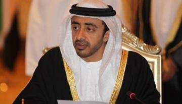 عبدالله بن زايد يلتقي رئيس البرلمان النرويجي