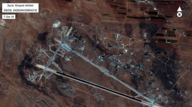 تسريب لضباطٍ بنظام الأسد يكشف تفاصيل الضربة الأميركية لمطار الشعيرات