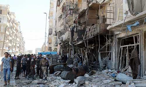 مقتل 19 مدنيا إثر قصف جوي على مدينة حلب وريفها