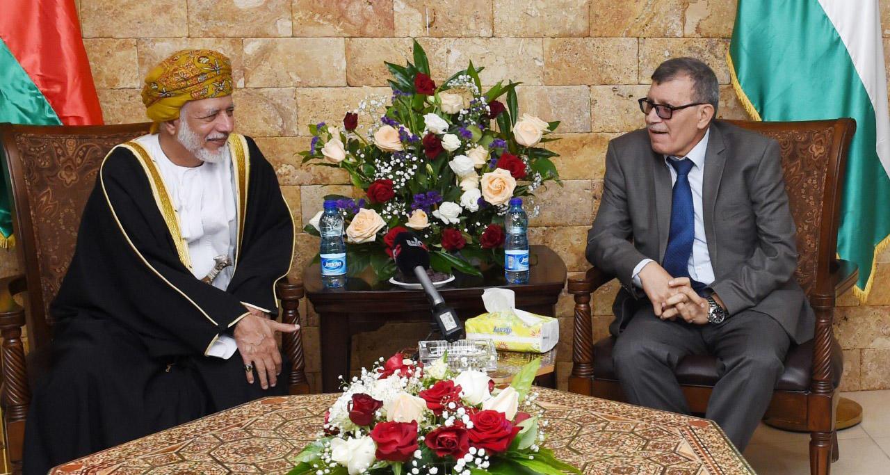 وزير خارجية عُمان بالضفة الغربية في أول زيارة لفلسطين