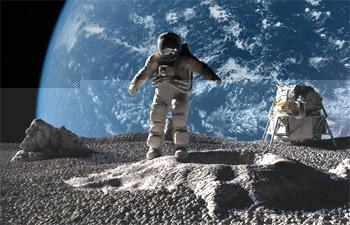 دراسة: الرياح الشمسية هي مصدر الماء على القمر