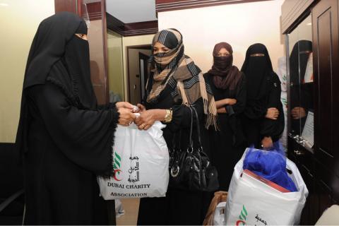 توزيع كسوة العيد على 1000 أسرة