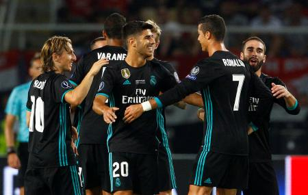 ريال مدريد يتفوق على يونايتد ليفوز بكأس السوبر الاوروبية