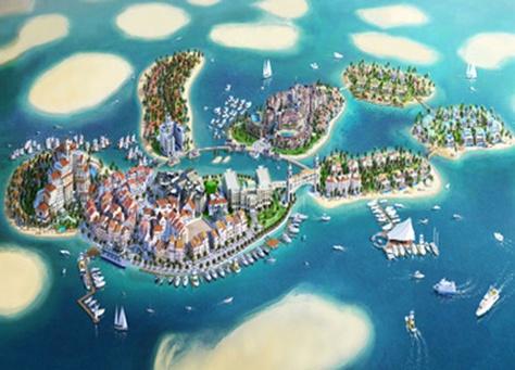 طائرات مائية تتولى نقل الزوار إلى قلب أوروبا في دبي