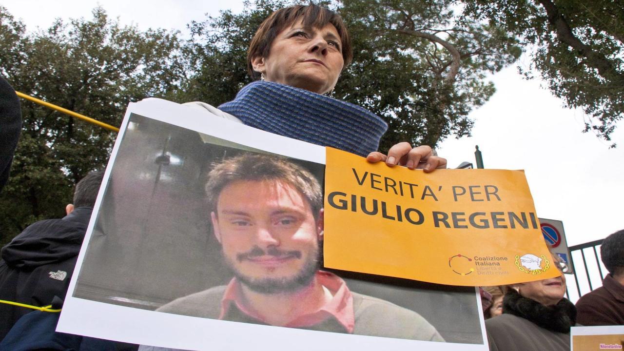 القضاء الإيطالي: رواية مصر بشأن مقتل ريجيني كاذبة وملفقة