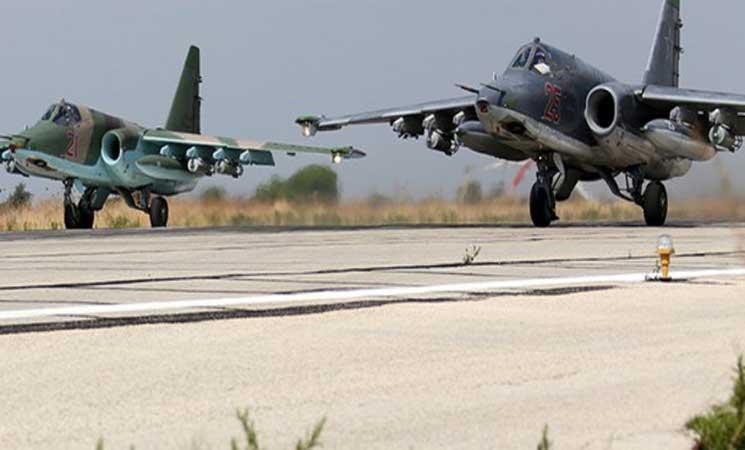 مقاتلات تركية وروسية تدمر أهدافا لـداعش في سوريا
