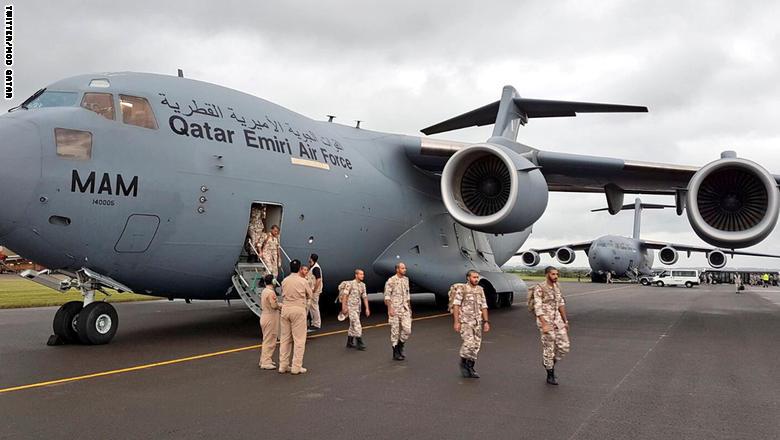 اختتام ثالث تمرين عسكري بين قطر وبريطانيا خلال شهر