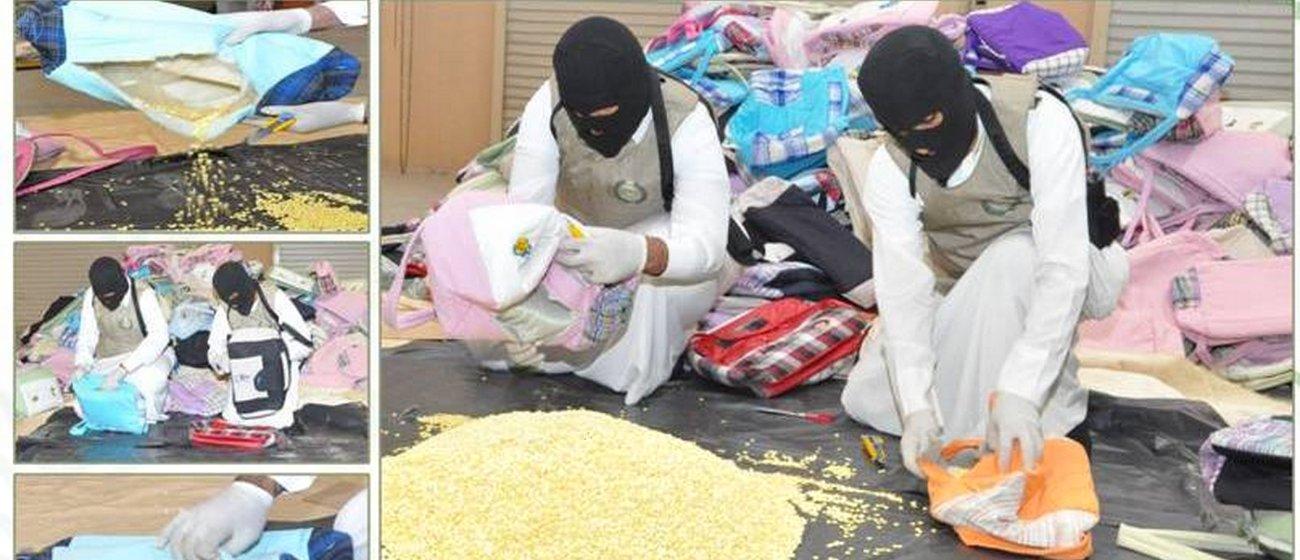 السعودية: القبض على عصابة مخدرات مكونة من 392 مروجا
