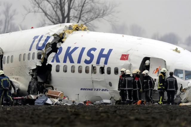 32 قتيلاً إثر تحطم طائرة شحن تركية في قرغيزستان