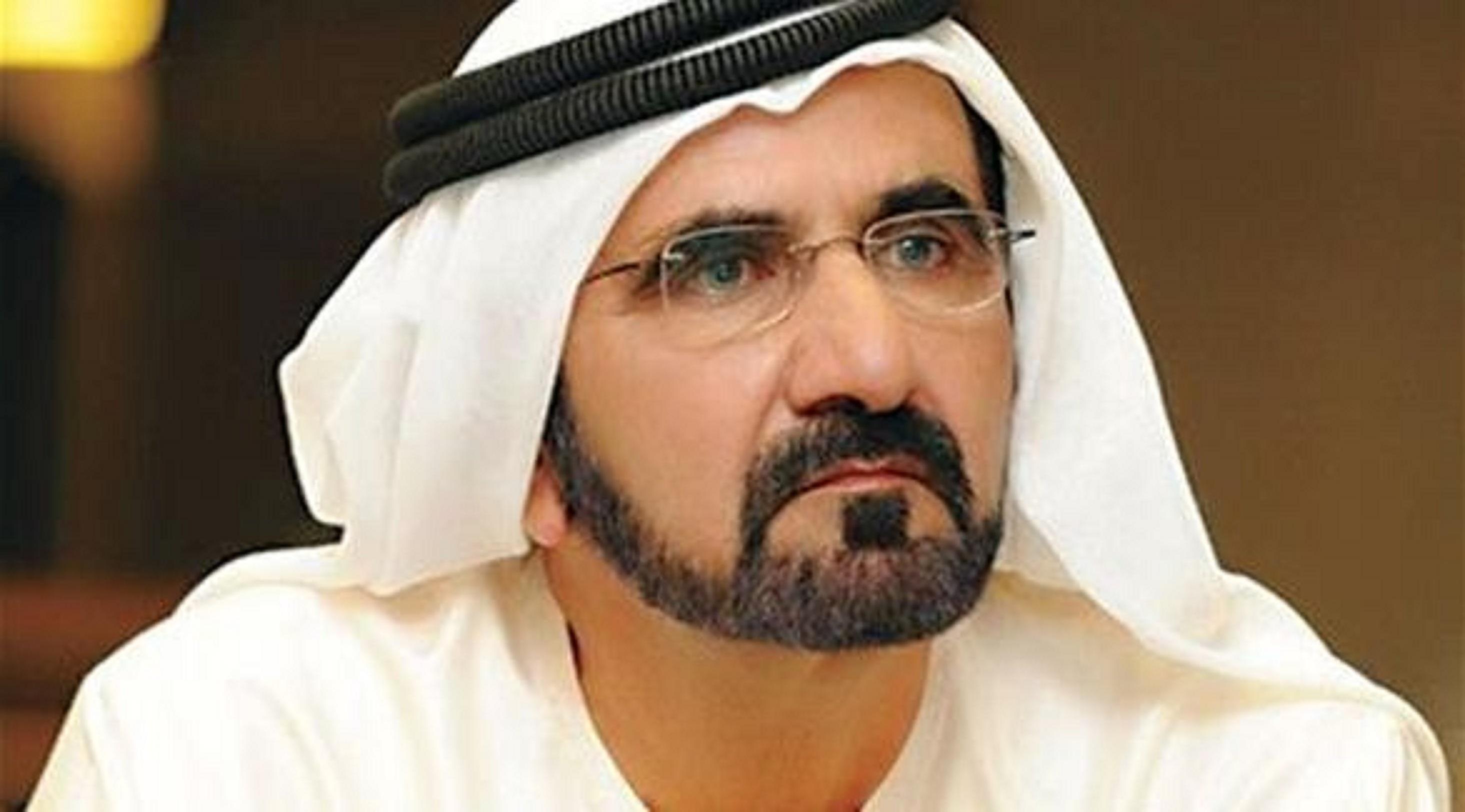 محمد بن راشد ينشر قصيدة عن الأزمة الخليجية.. ويتحدث عن قطر