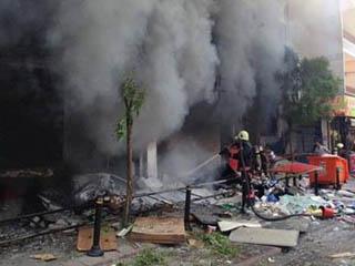 جرح أربعة أشخاص في انفجار في اسطنبول