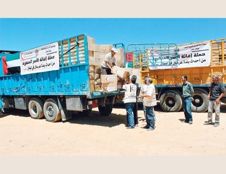 الإمارات تقدم مساعدات إغاثية جديدة للنازحين السورين في الأردن