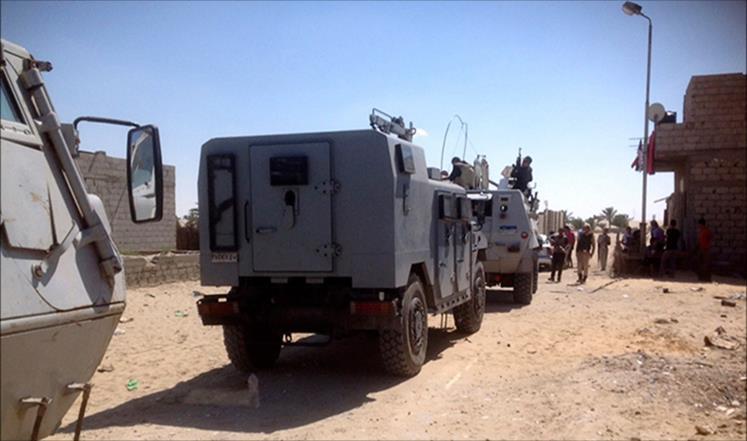 مصرع 11 شرطيا في هجوم على قافلة أمنية بسيناء