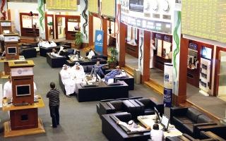 5.7 مليارات سهم للأجانب بخمس شركات في دبي