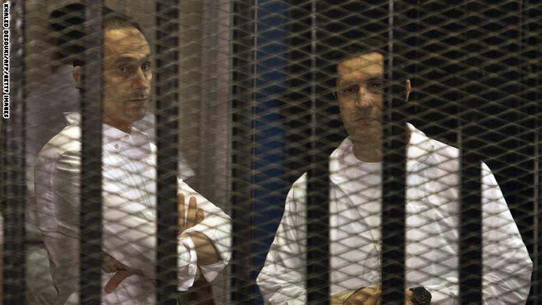 مصر: الحكم بإخلاء نجلي مبارك في قضية الكسب غير المشروع