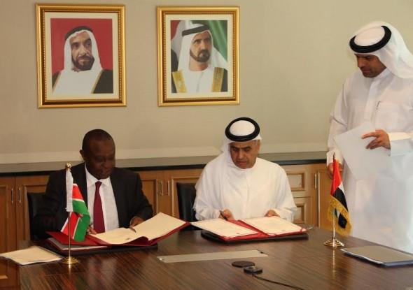الإمارات وكينيا يوقعان اتفاقية لحماية وتشجيع الاستثمار