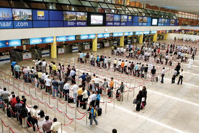 ارتفاع عدد المسافرين عبر مطار دبي الدولي خلال يناير 7%