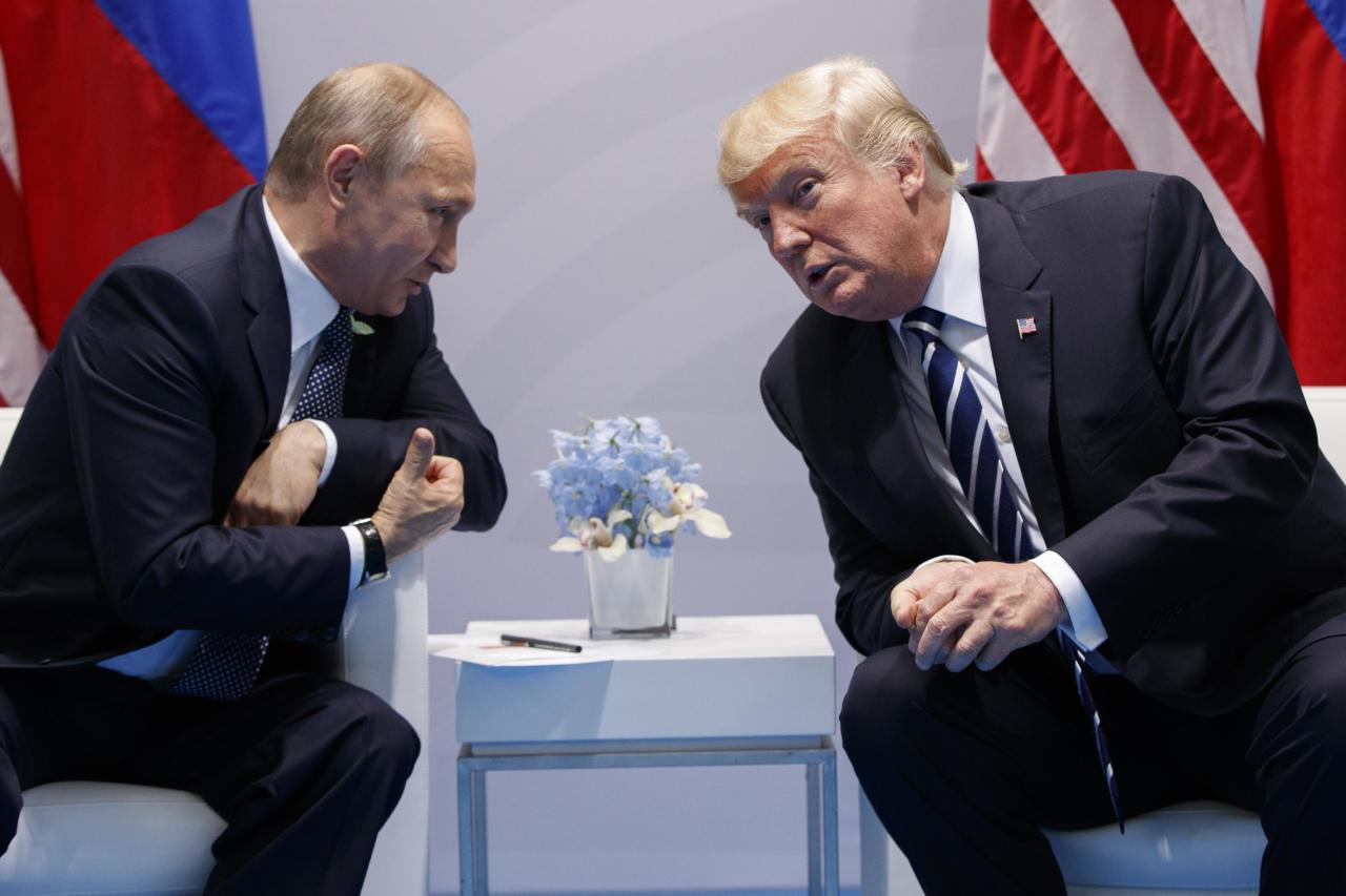 بوتين وترامب: لا حل عسكرياً في سوريا