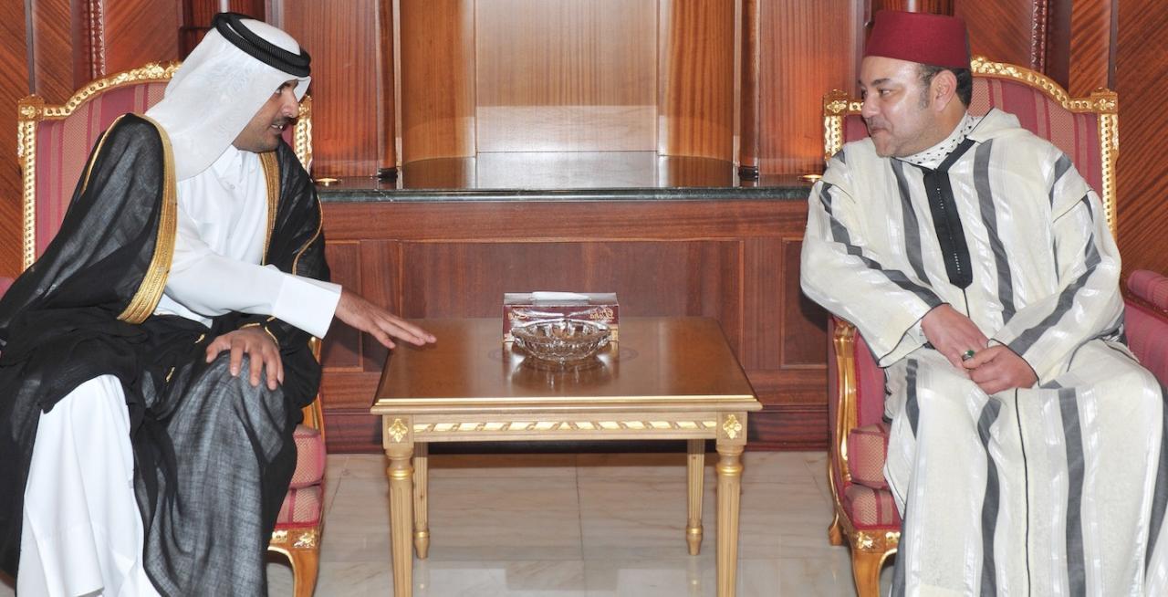 ملك المغرب يزور الإمارات وقطر في إطار وساطة لحل أزمة الخليج