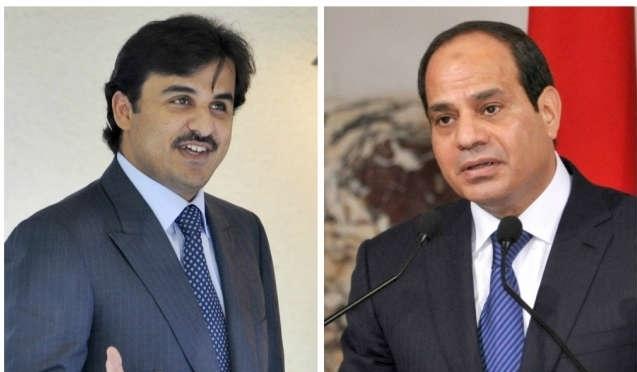 السيسي: أمير قطر صافحني وهناك جهود عربية للمصالحة